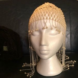 Beaded head piece Great Gatsby Flapper Egyptian